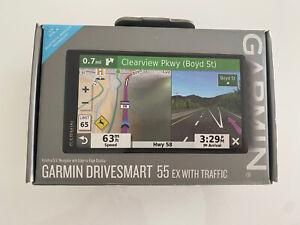 Garmin DriveSmart 55 EX  5.5 inch GPS Navigator - Black