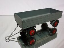 DINKY TOYS 423 TRAILER LARGE - GREY 1:43 -  GOOD CONDITION