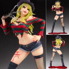 Anime A Nightmare On Elm Street Women Freddy Krueger PVC Figure New No Box 21cm