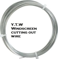 TWO x  WINDSCREEN REMOVAL CUTTING WIRE - SQUARE - (0.6mm x 4M)