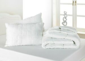 4.5 TOG LIGHTWEIGHT SUMMER BAMBOO COTTON DUVET Anti-Bacterial Cool Breathable