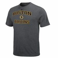 Boston Bruins Mens Majestic Short Sleeve T-Shirt - Medium & Small - NWT