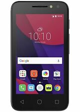 "Alcatel Pixi 4 4"" Smartphone Black Unlocked 4G LTE"