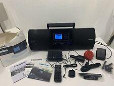 Sirius Xm boombox model Sxsd2 w/ Radio & accessories Included satellite radio