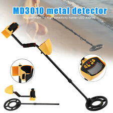 Lcd Display Metal Detector Gold Digger Hunter Underground Search Waterproof Coil