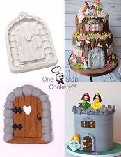 Katy Sue Sugar Buttons ENCHANTED DOOR Silicone Sugarcraft Cake Mould Art Craft