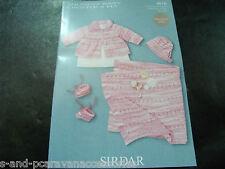 Sirdar Snuggly Crofter 4 Ply Knitting Pattern 4616