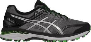 Asics Men's GT 2000 V5 Trail~ carbon/green~stability trail runner~ new~ size 9.5