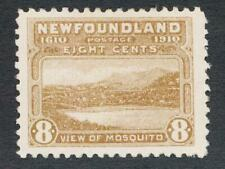 NEWFOUNDLAND 93 MINT VF LH 8c VIEW OF MOSQUITO