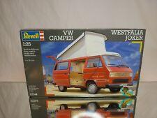 REVELL 07344 KIT (unbuilt) VW VOLKSWAGEN WESTFALIA CAMPER JOKER - 1:25 RARE - NM