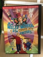 Willy Wonka and the Chocolate Factory (DVD, 2001, Widescreen 30th Anniversary E…