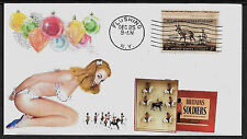 Britains Royal Scotts 1720 & Pin Up Girl Featured on Collector's Envelope *A041
