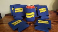 Vintage BLOCKBUSTER VIDEO Beer/Soda Can Koozie 1990's Retro Relic VHS Rental NOS