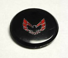 1970-1981 TRANS AM FORMULA STEERING WHEEL HORN BUTTON EMBLEM - LUCITE - RED BIRD