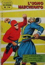V1195 LIBRO FUMETTO L'UOMO MASCHERATO N. 74 DI SPADA G. DELL'OTTOBRE 1964