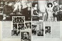 Sid James Carry On Sid Vintage Film Star Article 1970