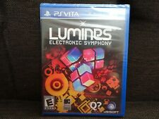 Lumines: Electronic Symphony (Sony PlayStation PS Vita, 2012) NEW!