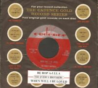 Everly Brothers - When Will I Be Loved Vinyl 45 rpm record Free Shipping