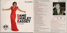 Dame Shirley Bassey Forever CD from The Mail on Sunday in card slip sleeve UK CD