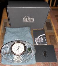 Waterford Crystal Ireland Basilica Mantle Clock w/Box, Labels, Bag+ Working!