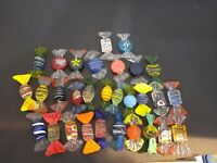 "40 Murano Art Glass Candies 2"" Long Home Decor. Glass Figurines"