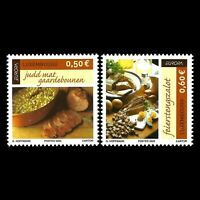 Luxembourg 2005 - EUROPA Stamps - Gastronomy - Sc 1162/3 MNH