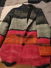 Desigual Women Coat Colourful Stripes