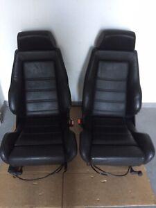 Original OPEL Kadett E GSI Champion Calibra Recaro Sitze Luxus CONNOLLY Leder