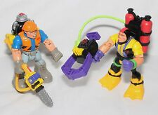 Fisher Price Rescue Heroes Gil Gripper & Rip Rockefeller with Tools