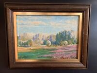 Frühlingslandschaft Ölgemälde Impressionist sign, dat.,1923 Georges Paul Masure