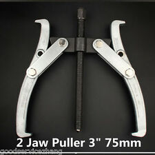 "3"" 75mm 2 Jaw Sliding Arm Gear Puller Internal External Hub Gear Remover Tool"