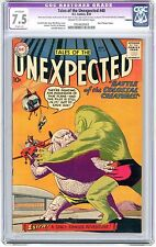 Tales of the Unexpected #40 cgc 7.5 cream to off-white pages trimmed
