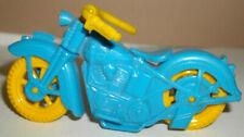 ACME blue plastic Police Harley-Davidson Motorcycle