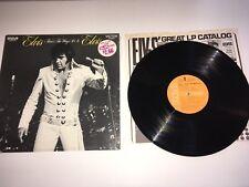 "Elvis ""Thats the Way It Is"" SHRINK LSP-4445 Orange Vinyl 1970 VG++"