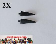 2x lego ® 11089 garra cuerno Barb Claw 1x4x1 grande en negro Black nuevo