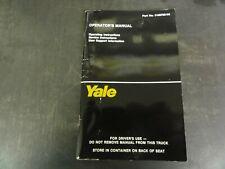 Yale ERC040-060RA/ZA Forklift Operator's Manual    5189768-08