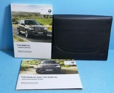 12 2012 BMW X5/X6 owners manual with Navigation