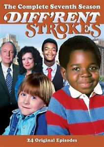 DIFF'RENT STROKES TV SERIES COMPLETE SEVENTH SEASON 7 New DVD Different