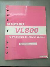 2005 Suzuki VL800 Intruder Volusia Supplementary Service Manual 99501-38080-01E