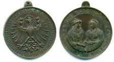 Tirolo, casa Habsburg, Anniversario-MEDAGLIA 1863 Rudolf VI. e Margaretha