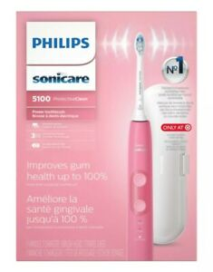 Philips Sonicare 5100 ProtectiveClean Electric Toothbrush Pink BRAND NEW SEALED