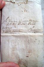 1789 PREFILATELICA DA DOLO A NOBILE VENEZIANO PIETRO PRIULI. CON ANNULLO 'DOLO'