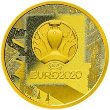 Russland - 50 Rubel 2021 - Fußball-Europameisterschaft 2020 - 1/4 Oz Gold PP