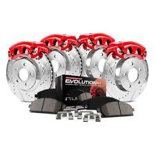 For Honda Civic 92-95 Brake Kit Power Stop 1-Click Z23 Evolution Sport Drilled &