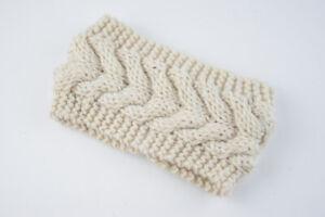 Women Girl Winter Ear Warmer Headwrap Crochet Headband Knitted Hairband