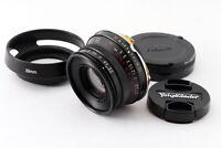 """EXC +5"" Voigtlander Color Skopar 35mm f/2.5 C Type M mount Leica L Japan 7920"