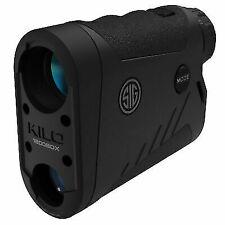 SIG SAUER KILO1800BDX 6x 22mm Ballistic Data Xchange Laser Range Finder - Black
