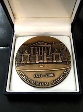 Belgium Bronze Medal for 175th Anniversary of Belgian Parliment (1831-2006) N138