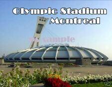 MONTREAL CANADA OLYMPIC STADIUM Travel Souvenir Flexible Fridge Magnet