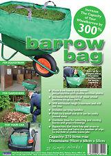 BARROW BAG - 270L Heavy Duty Bag - triple the capacity of your wheelbarrow